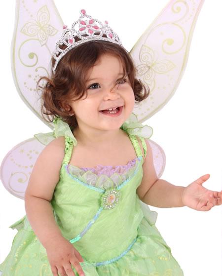 Sesión De Fotos Para Niñas Con Vestidos De Princesas Disney